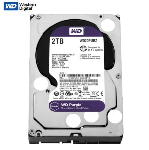 Hard disk 2TB SATA3 Western Digital Caviar 64MB WD20PURZ Purple